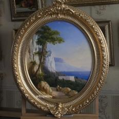 Копия картины И.К.Айвазовского «Пейзаж с горами»