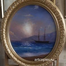 """Копия картины И.Айвазовского """"Морской пейзаж"""""""
