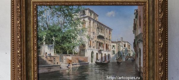 """Копия картины """"Каналы Венеции"""" Martin Rico"""