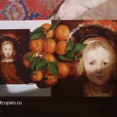 """""""Натюрморт с мандаринами"""""""