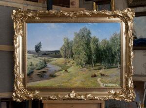 Копия картины «Летний день» Орловский В.Д.