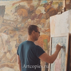 Игорь Курчинский, мастерская художника.