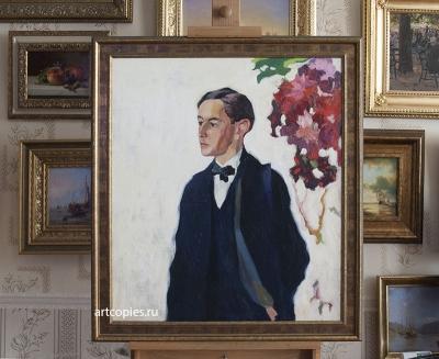 Копия картины «Портрет С.А.Лобачева» А.В. Лентулов