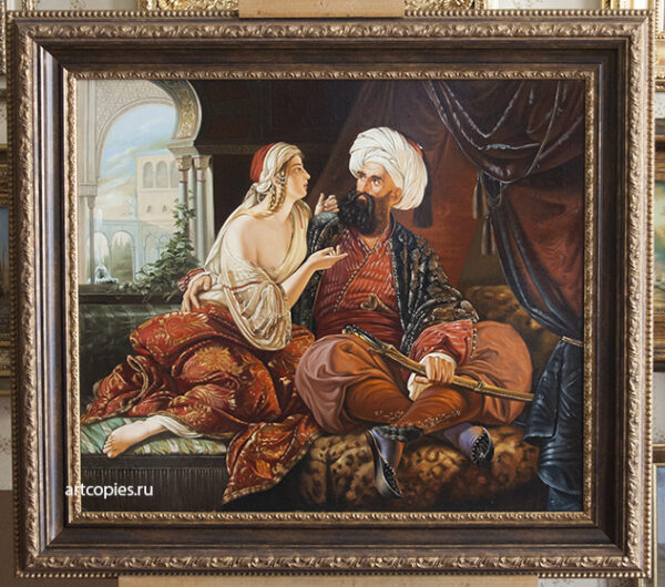 Paul Emil Jacobs «The Pasha's Favourite» (Ali Pasha and Kira Vassiliki)