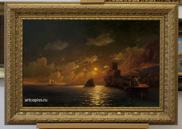 """Копия картины """"Лунная ночь"""" Айвазовский И.К."""